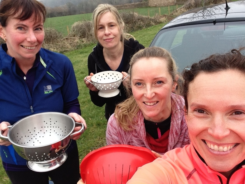 women's running group