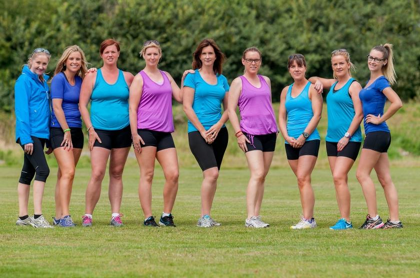 EVB sport women running