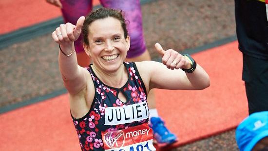 virgin london marathon finish