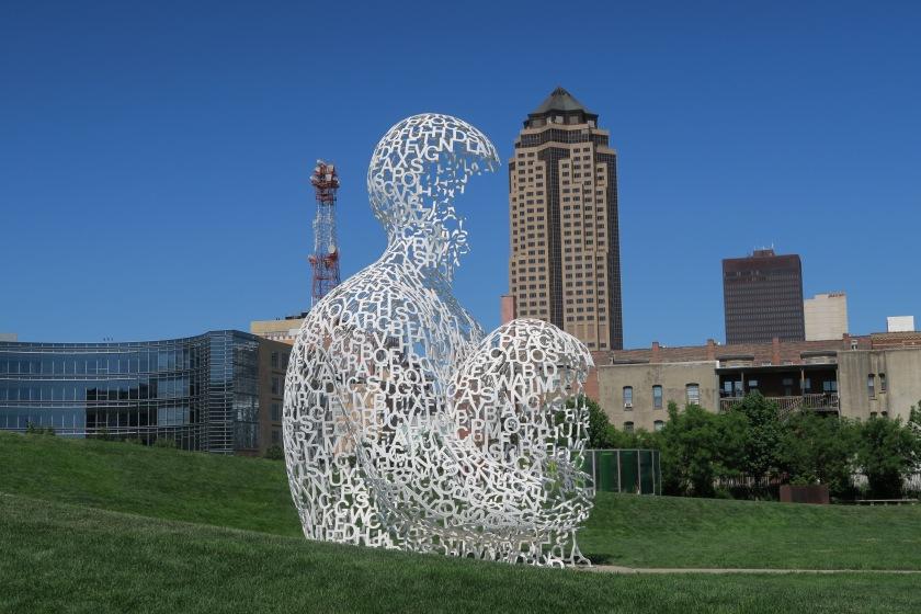 Sculpture park Des Moines