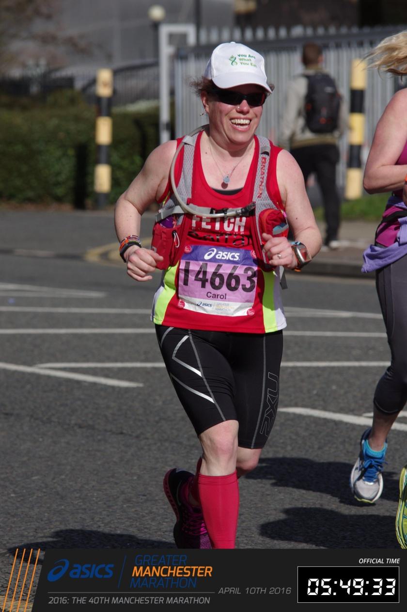 Carol Wilson. Manchester marathon drjulietmcgrattan.com